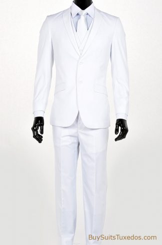 shop white slim fit suits