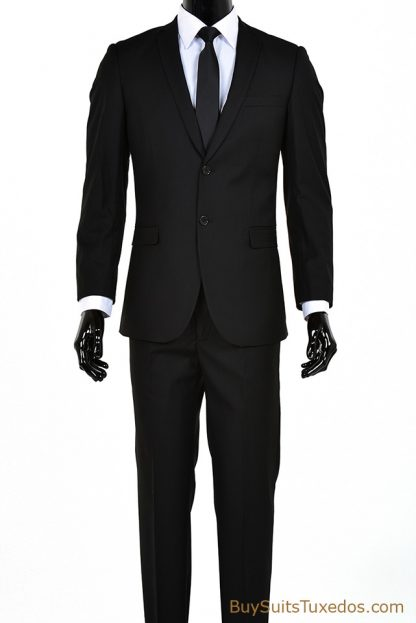 Italian designer slim fit suit