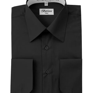 designer french convertible cuff shirt