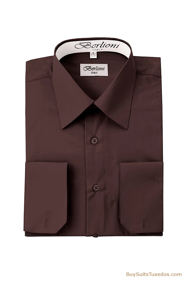 Sale on men 39 s french convertible cuff shirts men 39 s formalwear for 20 34 35 dress shirts