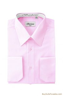 Pink french cuff shirts