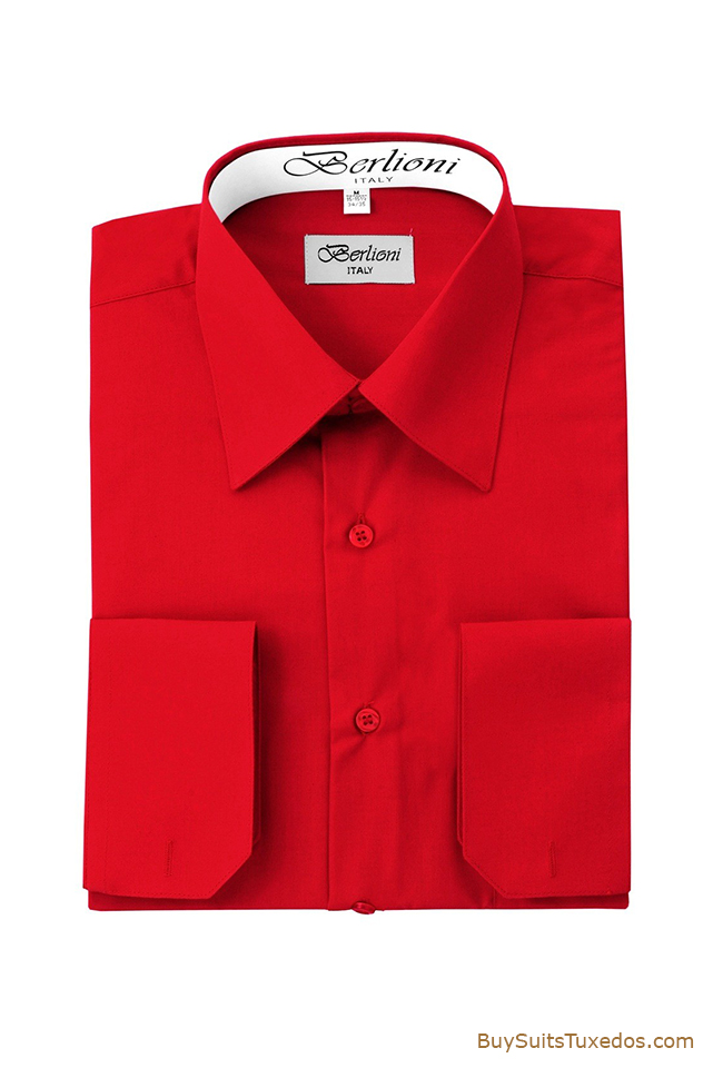 Italian Designer French Convertible Cuff Shirt Sale