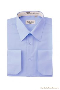 sky blue men's shirts