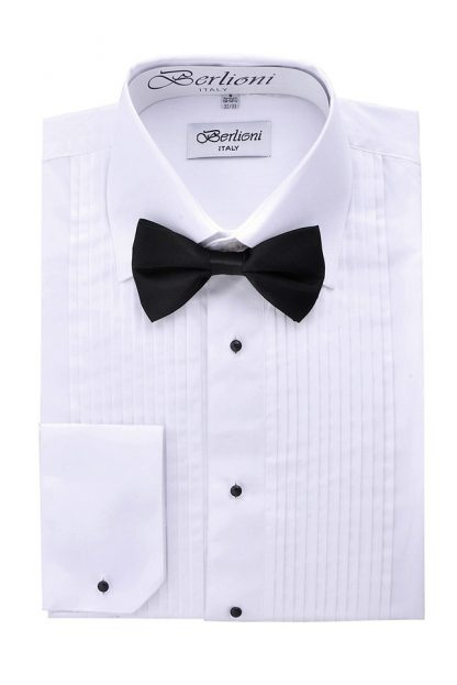 tuxedo shirts with bow ties