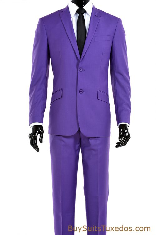Purple Men's Suit, two piece suit