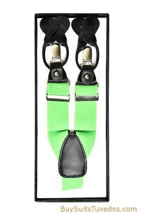neon green suspenders