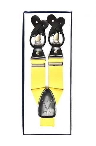 canary yellow suspenders