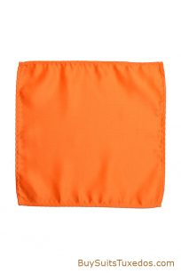 orange suit hanky