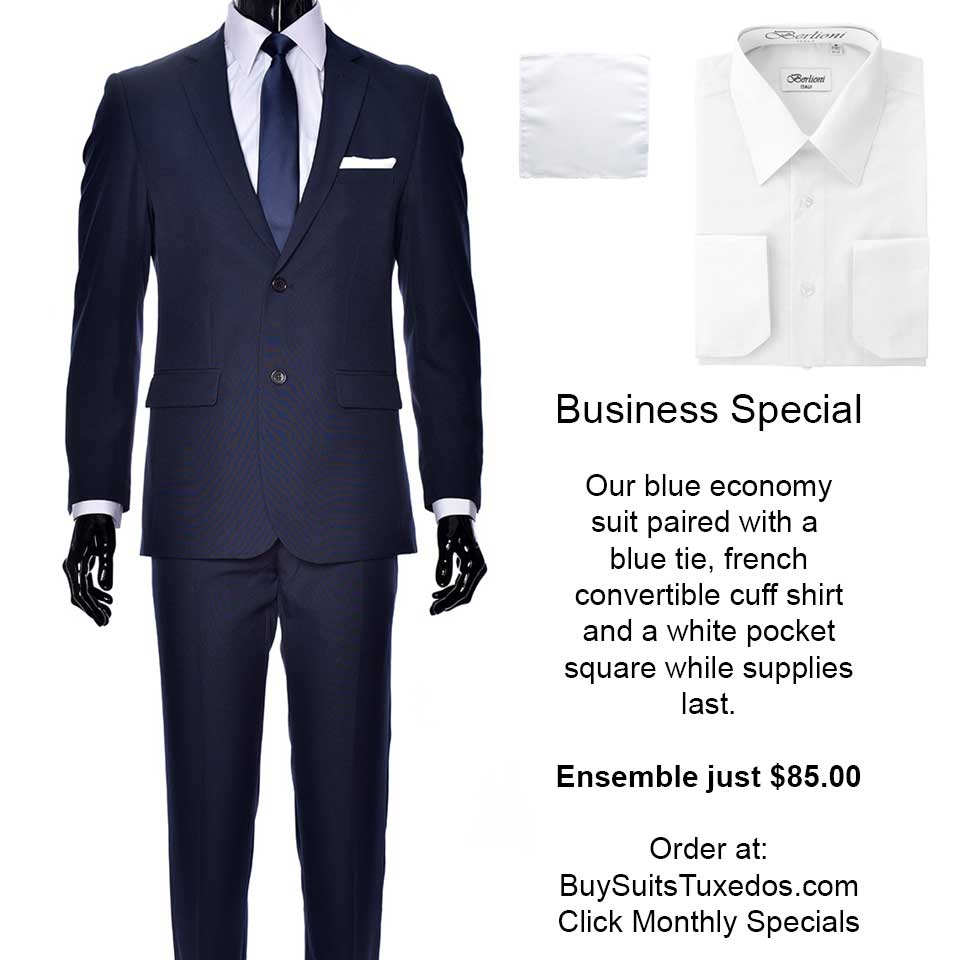 business suit sale