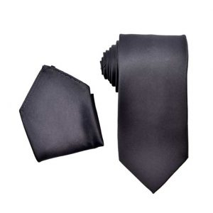 charcoal colored tie