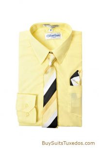 yellow boys shirt