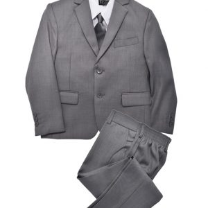boys grey suit