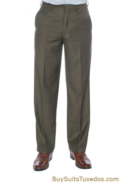 olive mens slacks