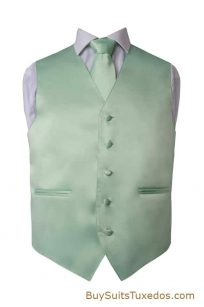 mint colored vest