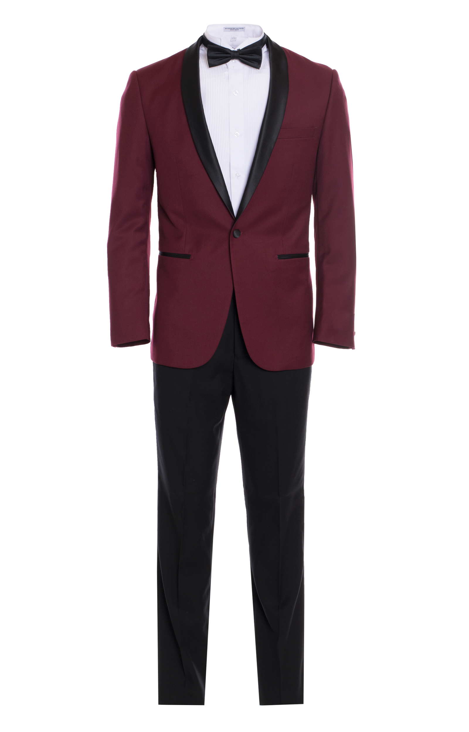 Men 39 s premium slim fit shawl lapel tuxedos color burgundy for Black suit burgundy shirt