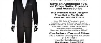 discount prom suits